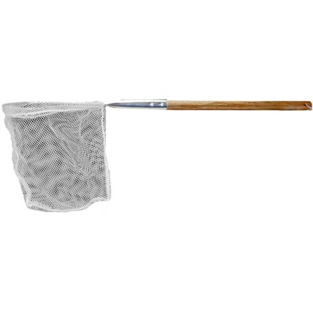 Frabill Baitwell Landing Vinylon Fishing Net with Wooden Handle ()