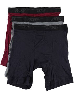 a15470f9e168 Product Image Jockey Mens 3 Pack Midway Underwear Boxer Briefs