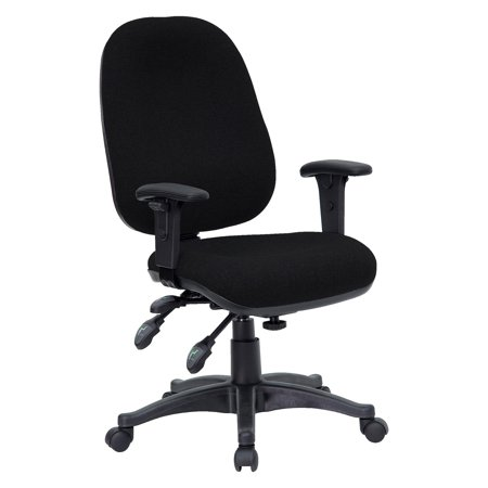 mid back swivel computer chair black or burgundy fabric