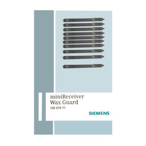 Siemens miniReceiver Wax Guard (Single Pack of 10 individual filters)