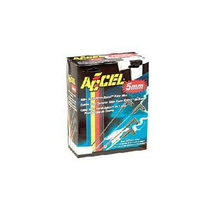 - Accel 7541K 5mm 300+ Ferro-Spiral Race Plug Wires