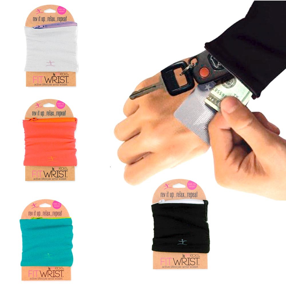 Sports Wrist Wallet Arm Pouch Band Zipper Running Travel Gym Hide Money ID Card