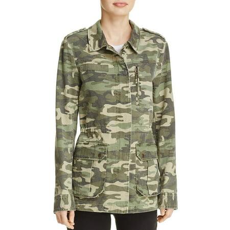 Pocket Safari Jacket (Sanctuary Womens Camo Pocketed Jacket)