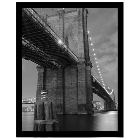 FRAMED Brooklyn Bridge Shadow by Pavone 14x11 Photograph Art Print Poster new York City Manhattan - Photos Parade Halloween New York