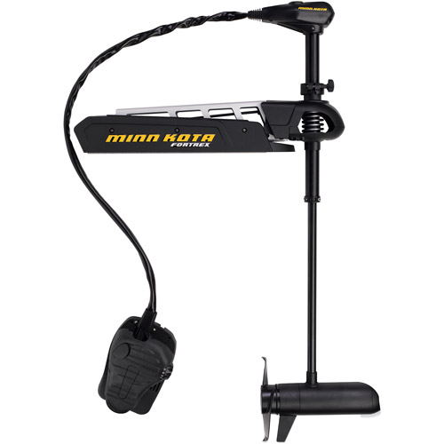 "Click here to buy Minn Kota Fortrex 80-lb Thrust Freshwater Bow Mount Trolling Motor with Universal Sonar, 45"" Shaft by Minn Kota / Johnson Outdoors, Inc."