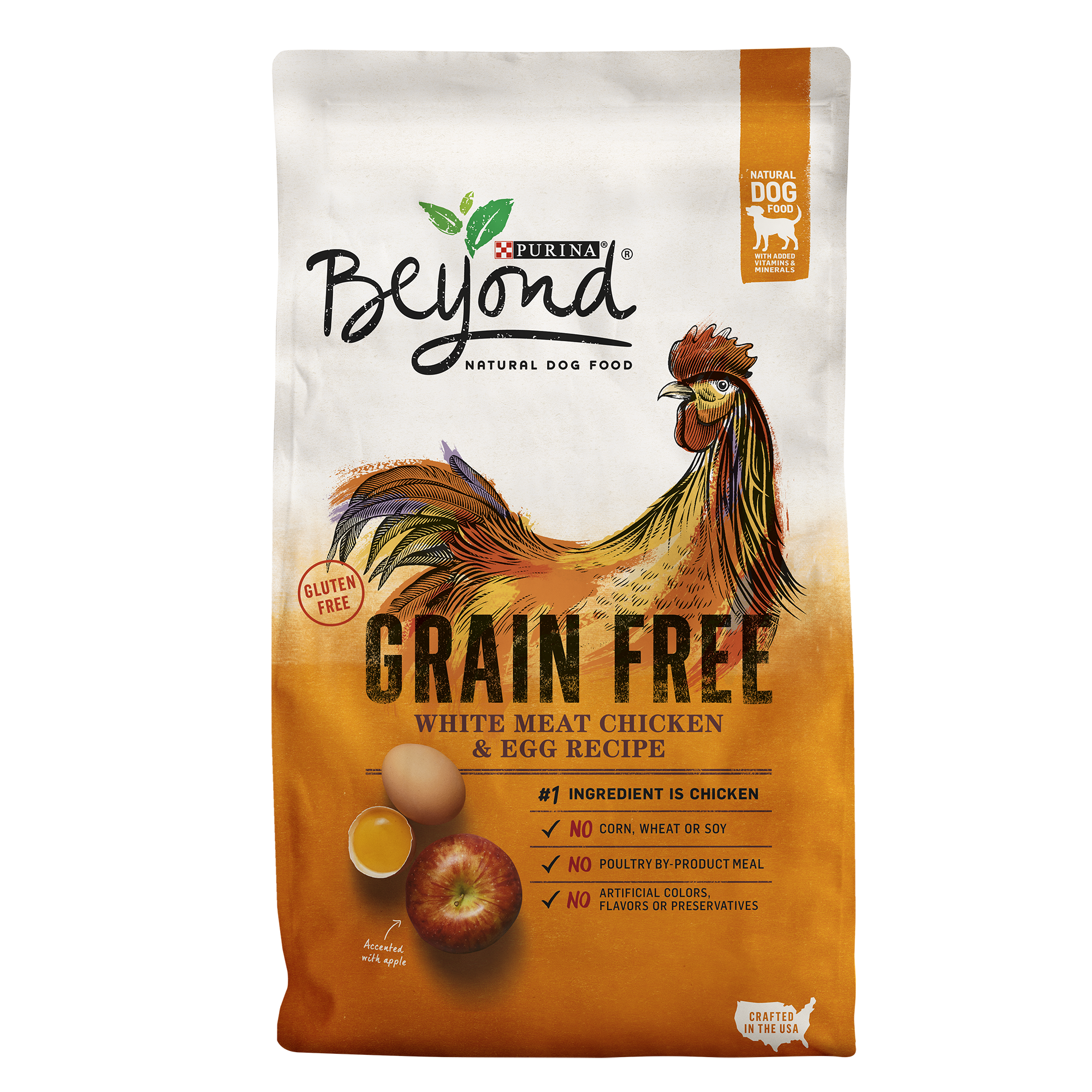 Purina Beyond Grain Free White Meat Chicken & Egg Recipe Adult Dry Dog Food - 3 lb. Bag