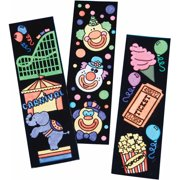 Carnival Bookmarks Craft Kit, 48 Pack