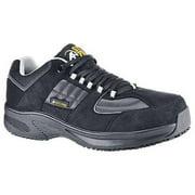 Shoes For Crews Size 6-1/2 Composite Toe Work Boots, Unisex, Black, B, 8089