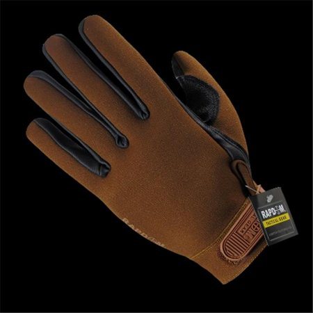 Rapid Dominance T08 Pl Coy 04 All Weather Shooting Glove  44  Coyote   Extra Large
