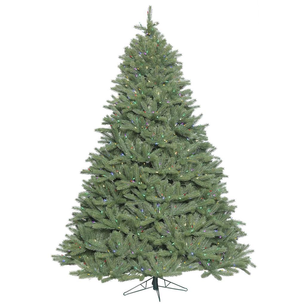 "Color Switch Christmas Tree: 12' X 94"" Colorado Blue Spruce Tree"