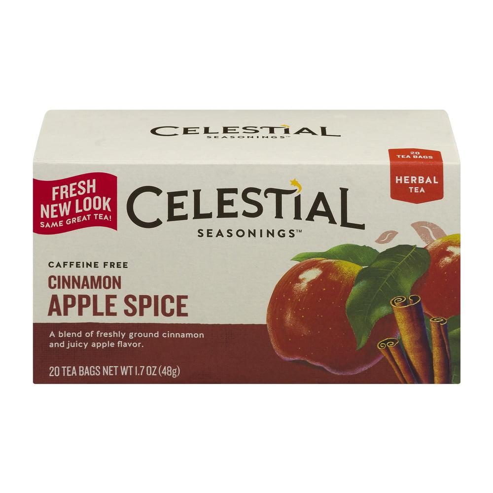 Celestial Seasonings Cinnamon Apple Spice Tea - 20 CT