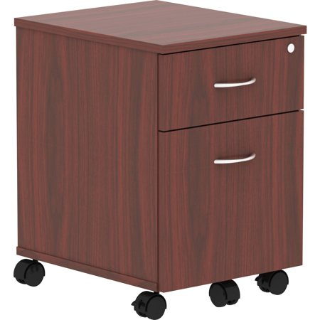 Lorell Mahogany Cabinet - Lorell, LLR16216, Relevance Series Mahogany Laminate Office Furniture, 1 Each