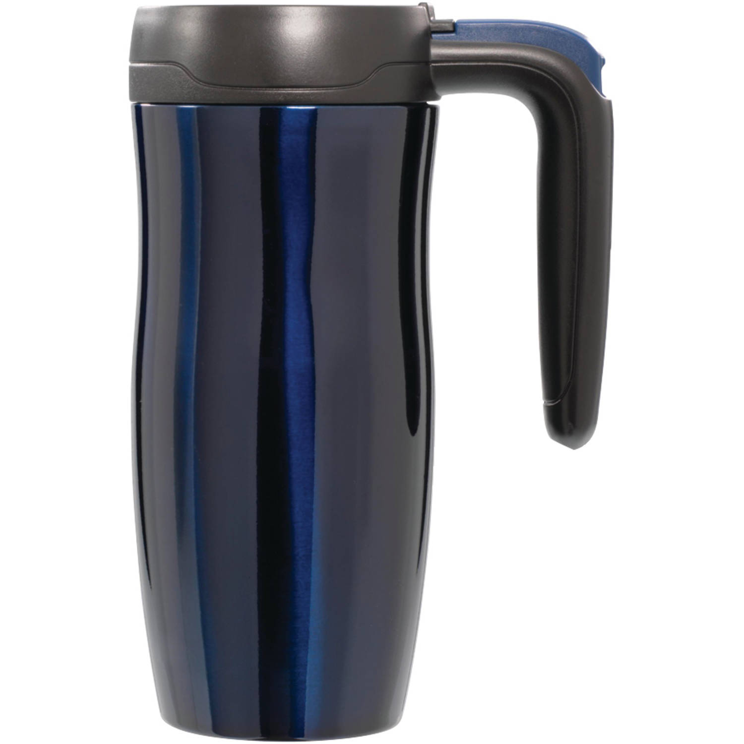 Contigo AUTOSEAL Randolph Vacuum-Insulated Handled Travel Mug with Easy-Clean Lid, 16 oz., Gunmetal