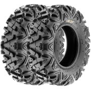 SunF All Trail A/T ATV UTV Tires 24x8-12 24x8x12 6 PR A033 (Set pair of 2)