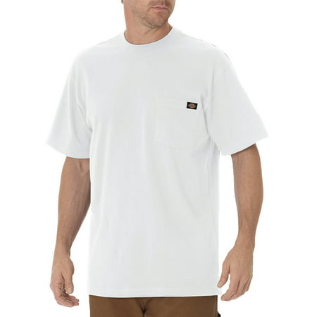 Big and Tall Men's Short Sleeve Heavyweight Crew Neck