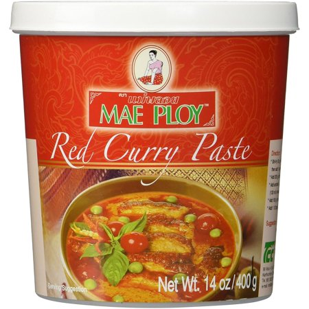 Red Curry Paste, 14 oz By Mae Ploy From USA
