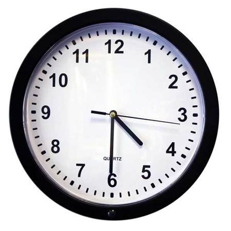 KJB 720p HD Wide Angle Wall Clock Hidden Camera