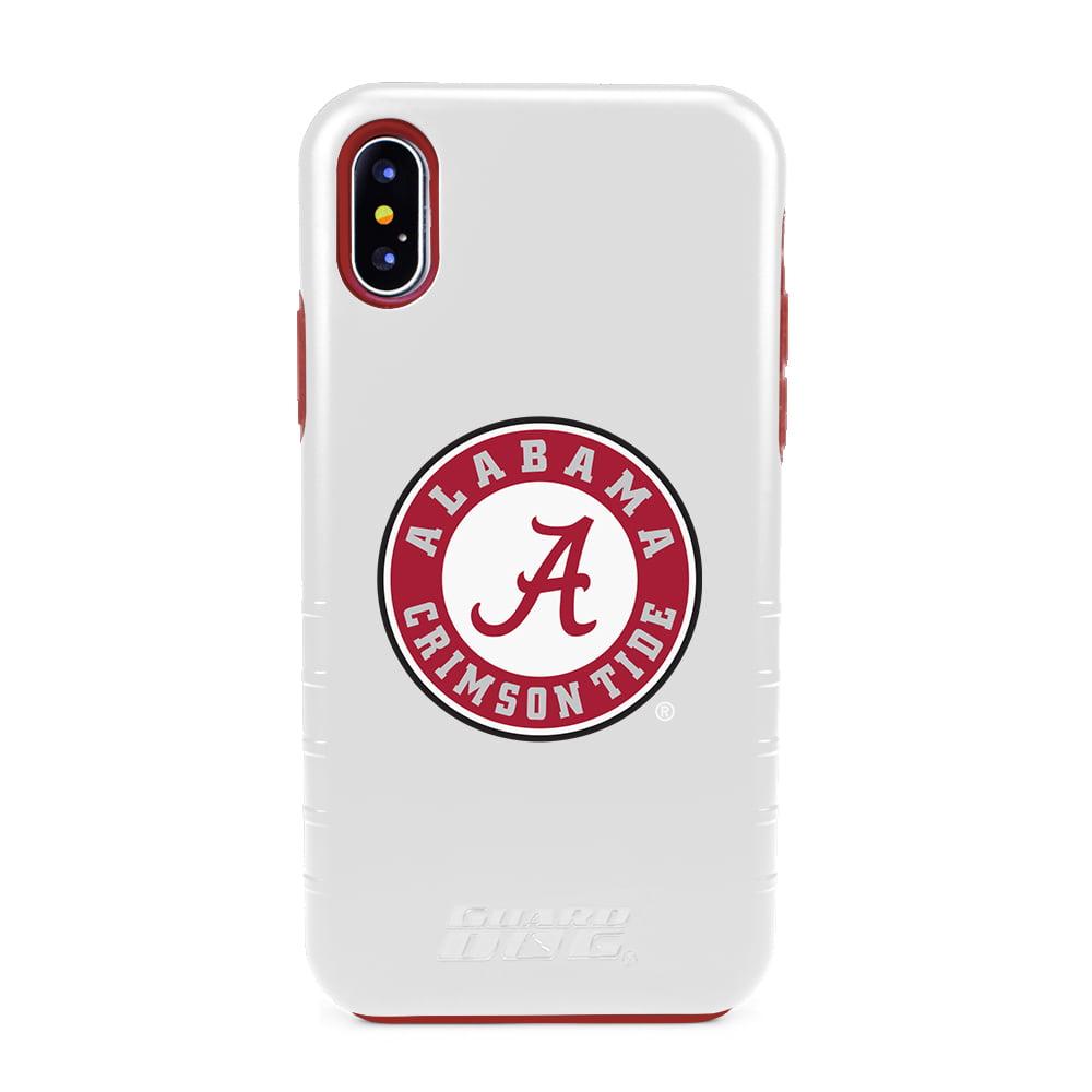 Alabama Crimson Tide Hybrid Case for iPhone X / Xs - White