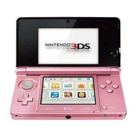 Refurbished 3DS Hardware Pink