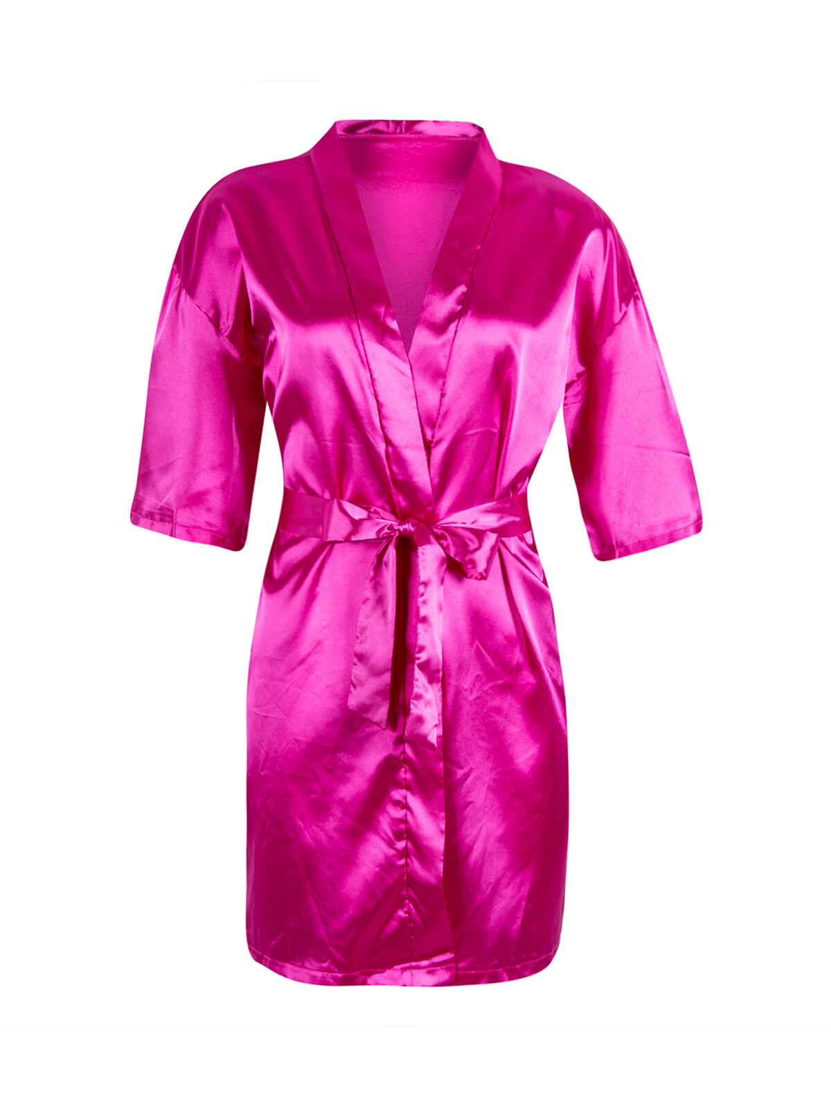 New Design Women/'s Lone Sleeve Fashion Design Satin Dress with Belt