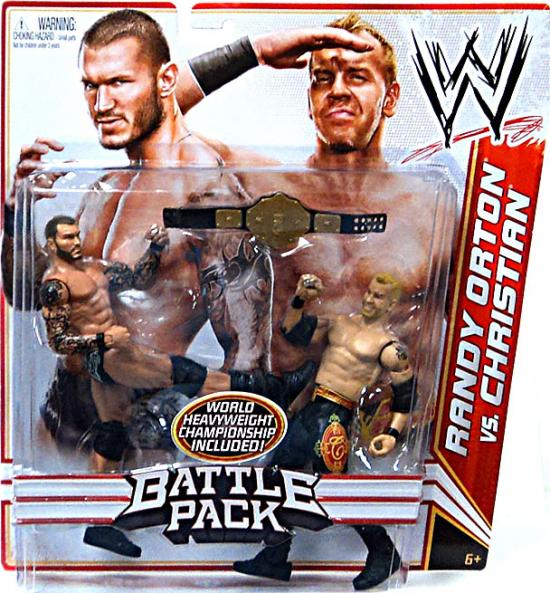 WWE Action Figures 2pk, Christian/Randy Orton