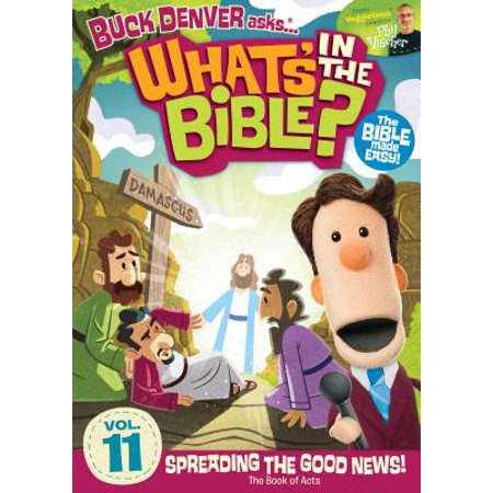 Buck Denver Asks... What's in the Bible?: Spreading the Good News: The Book of Acts (Audiobook) (Good Halloween Double Acts)