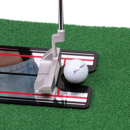 MarinaVida Golf Swing Straight Practice Golf Putting Mirror Eye Line Alignment Training Aid