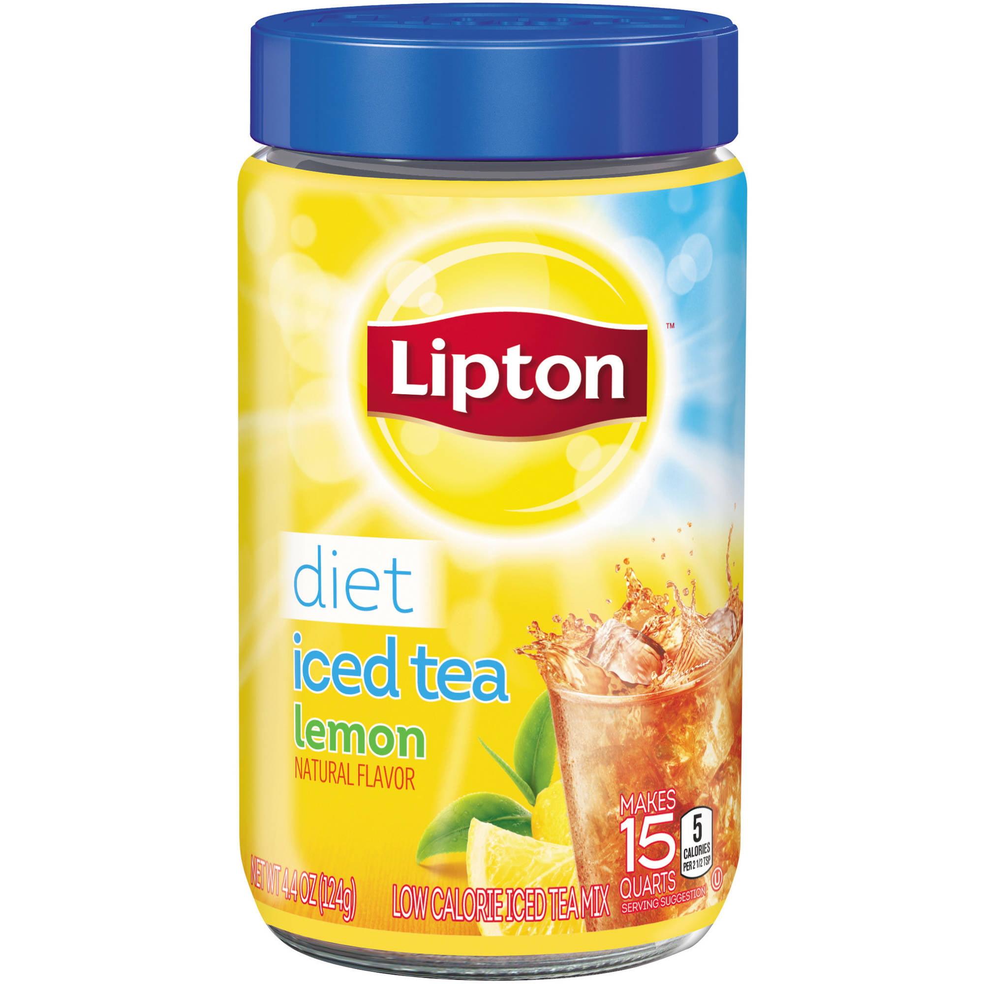 Lipton Diet Lemon Iced Tea Mix, 15 qt