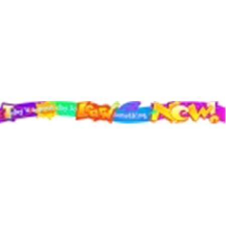Trend Enterprises Argus Today Is A Great Day To Learn Something New Wall Banner, 117 x 8 in. - Trendy Day