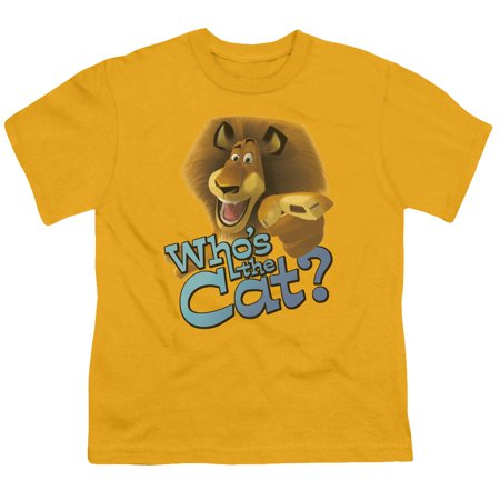Kung Fu Panda - Whos The Cat - Youth Short Sleeve Shirt - Medium
