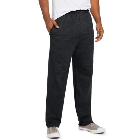 Fleece Lined Knit Pants (Men's EcoSmart Fleece Sweatpant with Pockets)