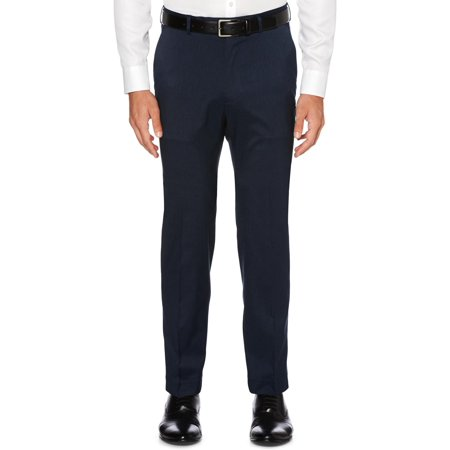 Perry Ellis Portfolio Mens Classic Fit Flat Front Dress Pants
