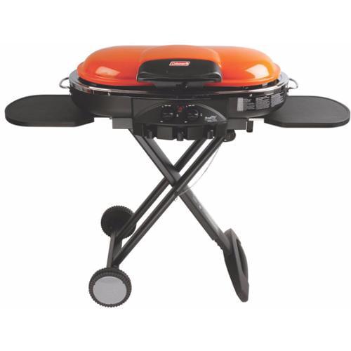 Coleman Portable Tailgating Camping InstaStart Roadtrip LXE Propane Grill Orange