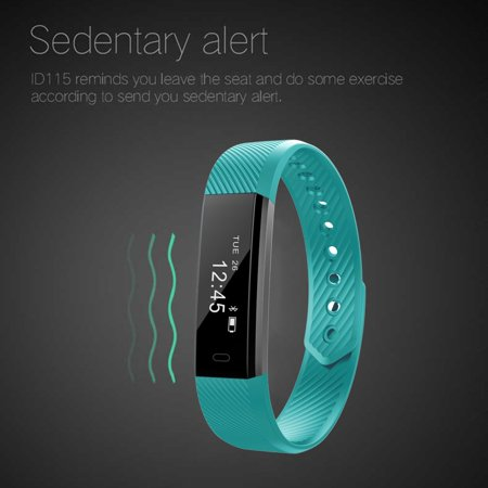 LEMFO ID115 Pedometer Smart Bracelet Fitness Tracker for iOS for