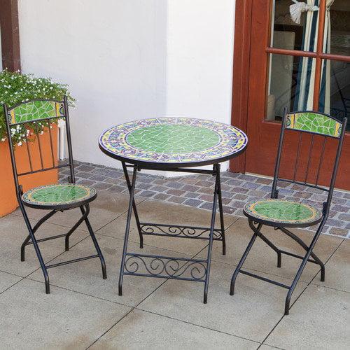 RST Outdoor Monaco Pear Decorative 3 Piece Bistro Set
