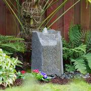 LiquidArt Fountains Glass Fiber Reinforced Concrete Basalt Rock Hollow Springs Pondless Fountain Kit