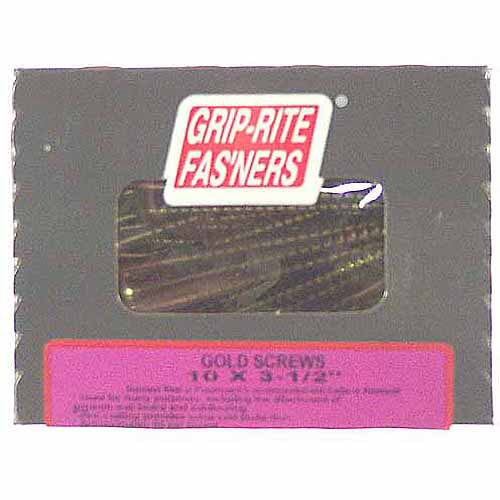 """Prime Source 1-lb Gold Screwdrivers for General Construction, 3-1/2"""""""