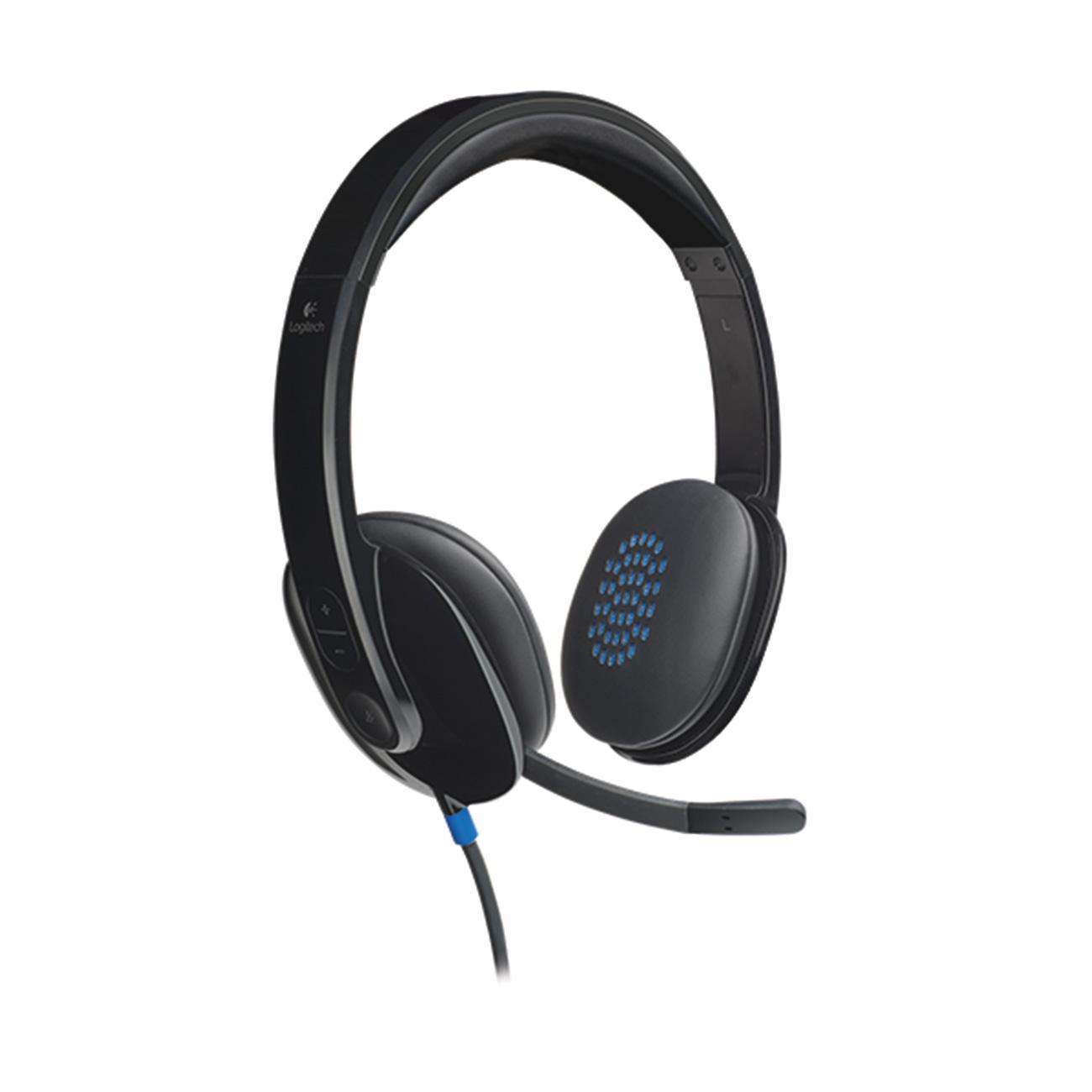 Logitech, LOG981000510, H540 USB Headset, 1, Black