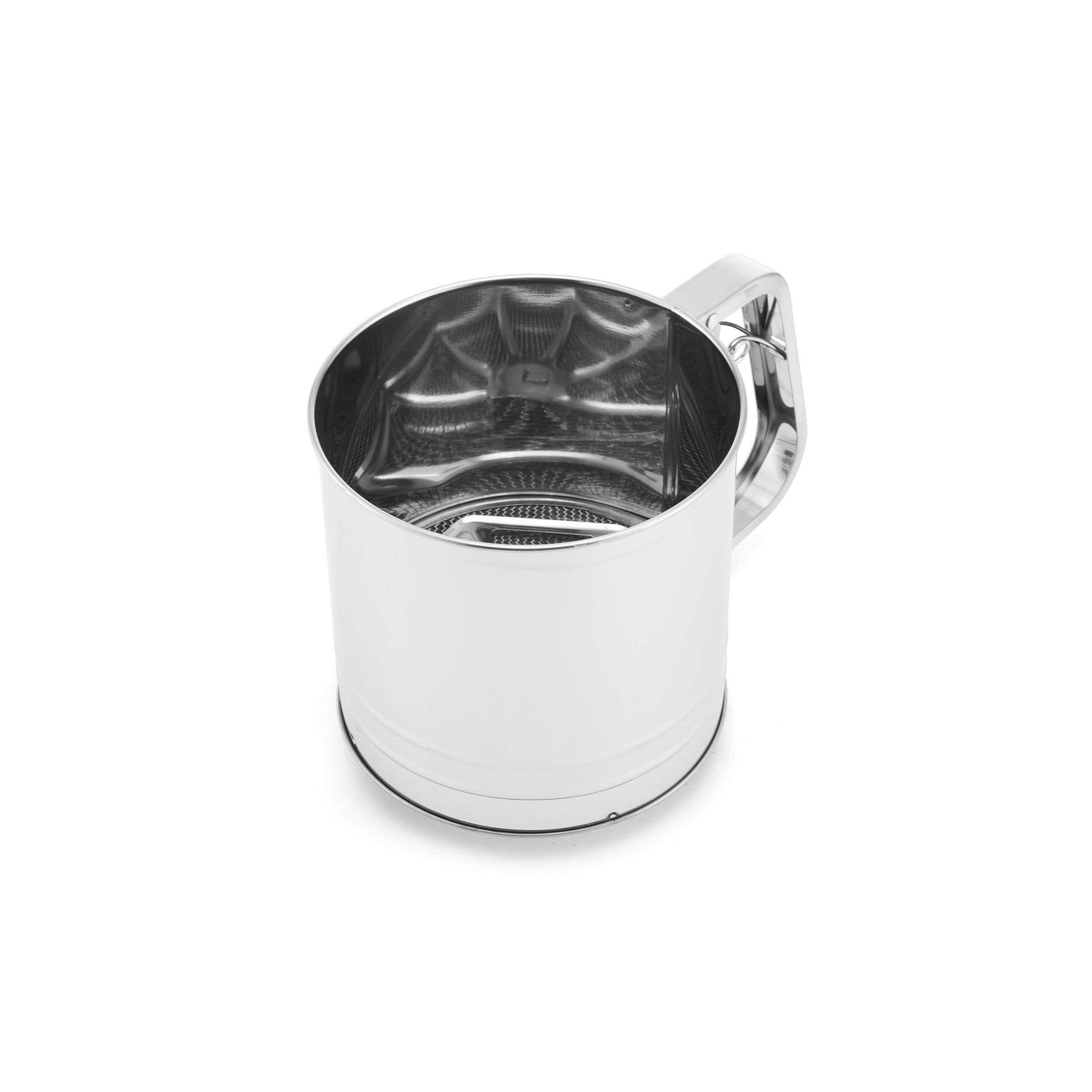 Farberware Classic 5-Cup Stainless Steel Flour Sifter by Lifetime Brands