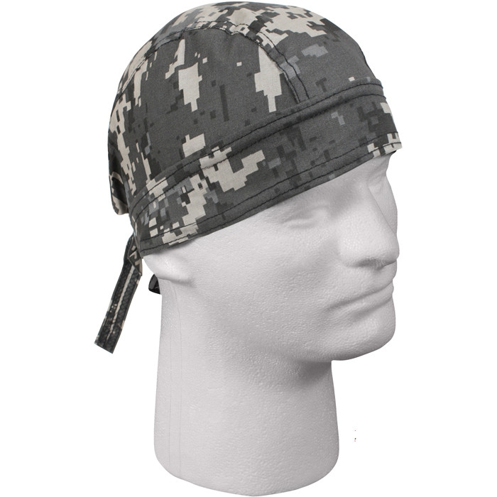 Subdued Urban Digital Camouflage Military Headwrap by Rothco