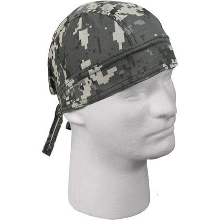 Rothco Digital Camo Headwrap - Subdued Urban Digital Camo