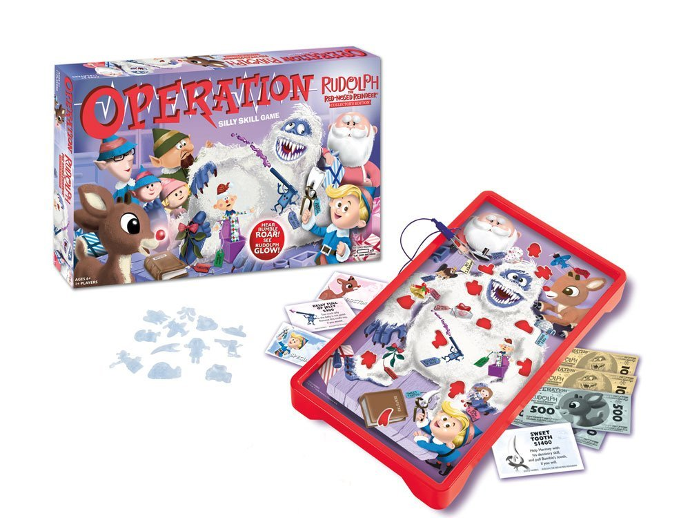 Christmas Operation Game.Rudolph The Red Nosed Reindeer Operation