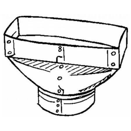 imperial galvanized universal register boot walmart AC Duct Liner imperial galvanized universal register boot
