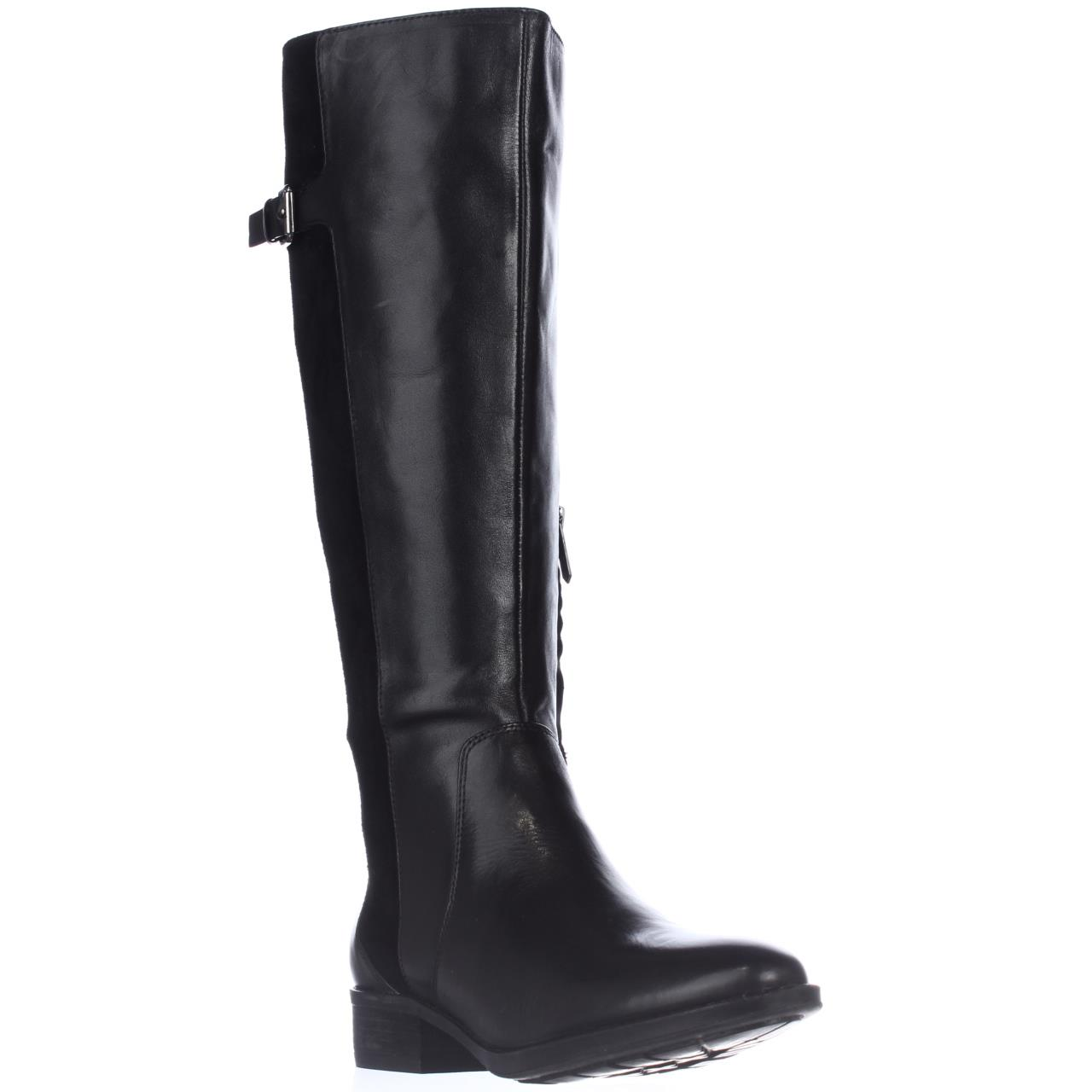womens sam edelman patton boots black