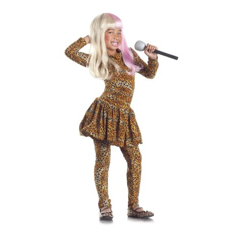 Leopard Rap Superstar Child Costume by Party King PK145C