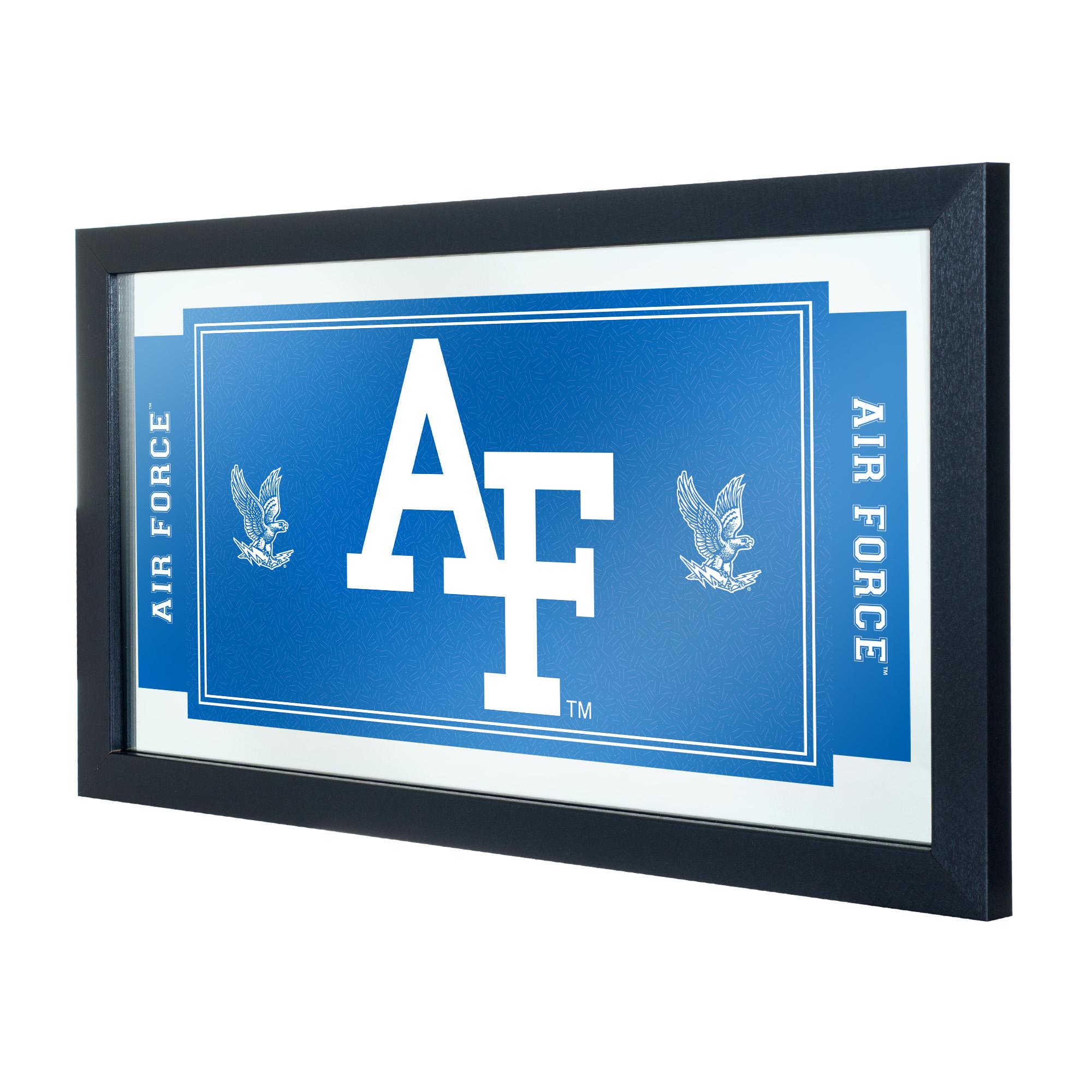 NCAA Air Force Falcons Framed Logo and Mascot Mirror