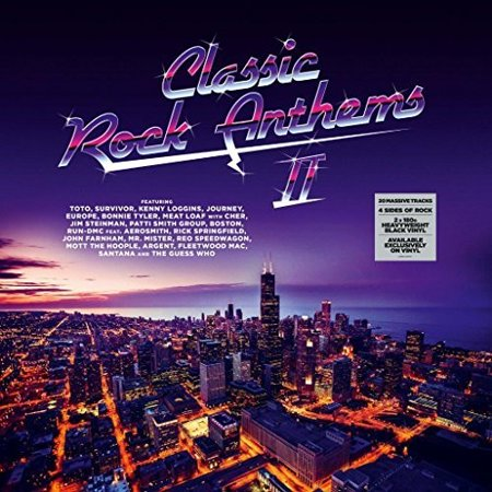 Classic Rock Anthems 2 / Various (Vinyl) Rock Vinyl Records