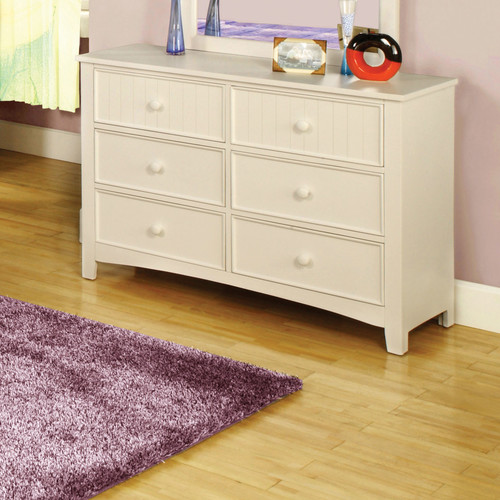 Hokku Designs Alyssa 6 Drawer Double Dresser by