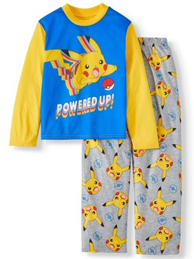 Pokemon 2PC Pajama Set (Little Boy & Big Boy)