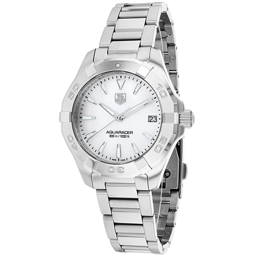 Tag Heuer Women's Aquaracer Watch Quartz Sapphire Crystal WAY1312.BA0915